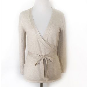 Zara Knits Wrap Ballet Cardigan Sweater